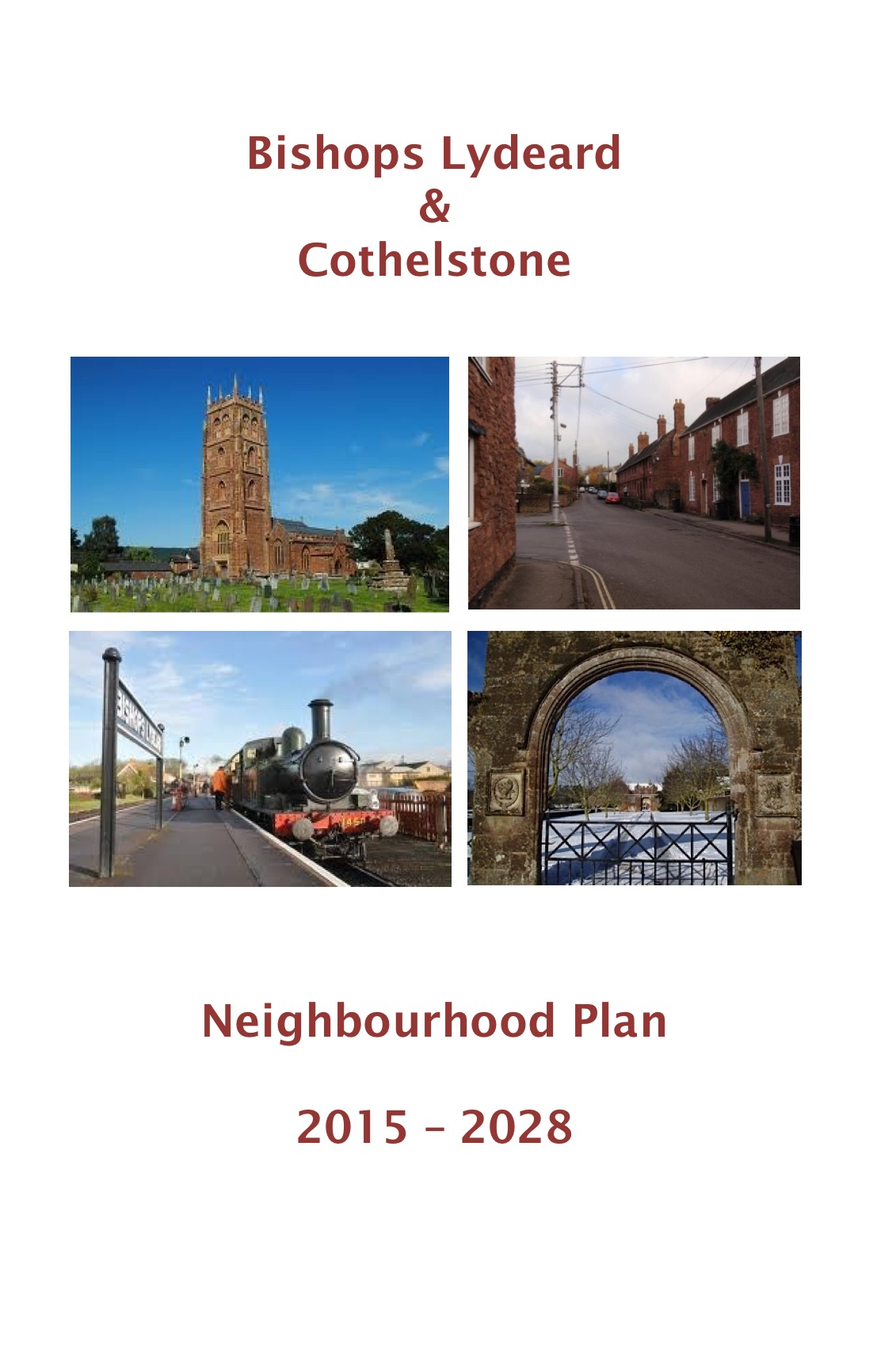 Bishops Lydeard & Cothelsone Neighbourhood Plan
